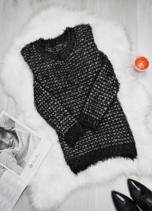 Мягкий приятный пушистый свитер травка
