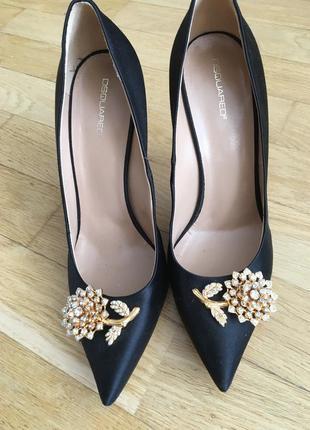 Красивые брендовые туфли, италия, оригинал, размер 39.