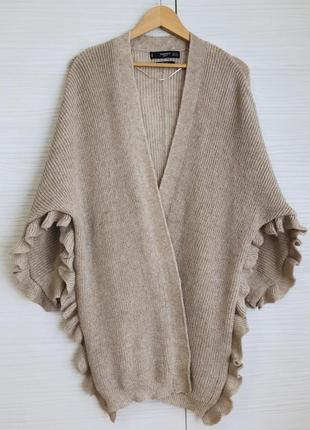 Кардиган mango размер м накидка свитер джемпер