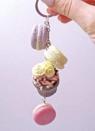 Брелок подвеска  на сумку ключи сладости