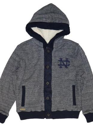 Новый пуловер на меховой подкладке для мальчика, mayoral, 7421