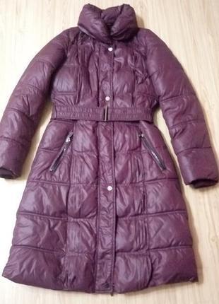 Теплая куртка,пальто по колено ,reserved