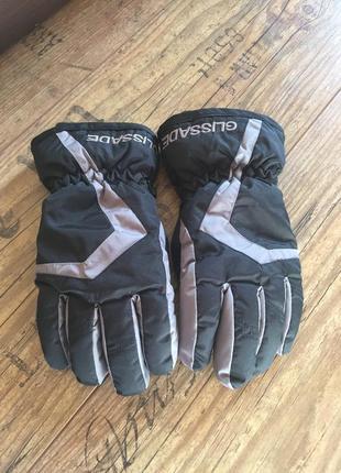 Лыжные перчатки на мальчика 8-10 лет