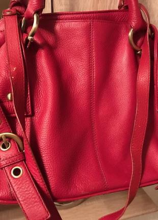 Красивая сумка из натуральной кожи