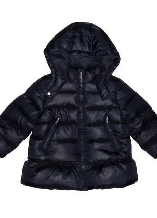 Новая зимняя синяя куртка для девочки, mayoral, 1737