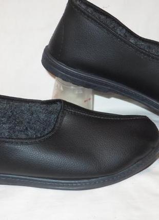 Туфли-тапки,тапочки на меху 43,5 размер