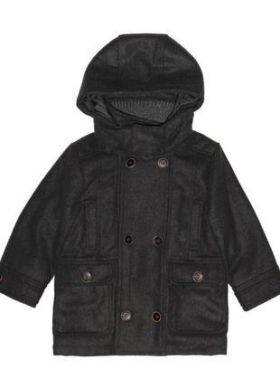 Новое зимнее серое пальто для мальчика, mayoral, 4496