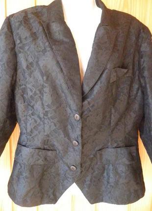 Ажурный пиджак