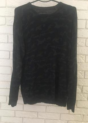 Мужской тонкий свитер casual friday by blend