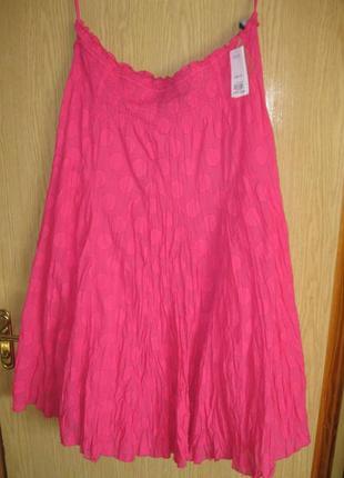 """Новая юбка жатка """"evans"""" р.56 англ. цена 35 фунтов пояс-резинка"""