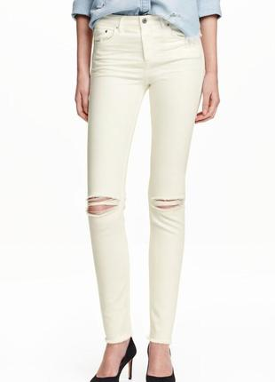 Джинсы slim regular jeans h&m 333347