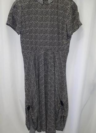Классное платье миди h&m