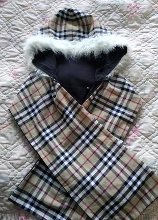 Прекрасный удобный шарф капюшон, капор, шаль.