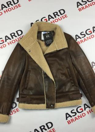 Косуха дубленка зимняя куртка