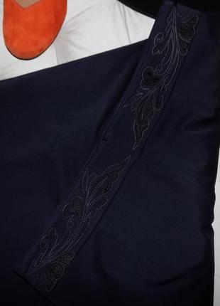 Классическая юбка на запах из очень плотной ткани, 18 р-р на наш 52 р-р