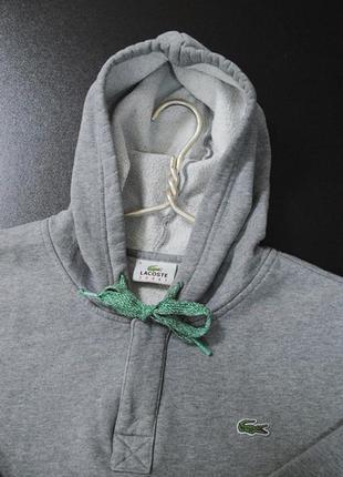 Крутое  hoodie lacoste