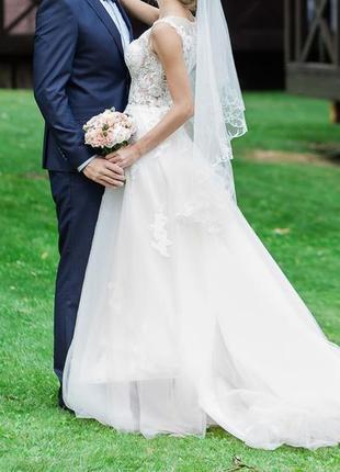 Продам идеальное свадебное платье3