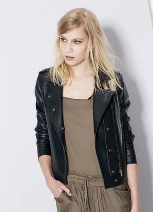 Кожаная куртка косуха cop copine (франция)