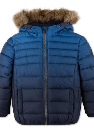 Теплая зимняя куртка на мальчика от c&a palomino размер 104, 110