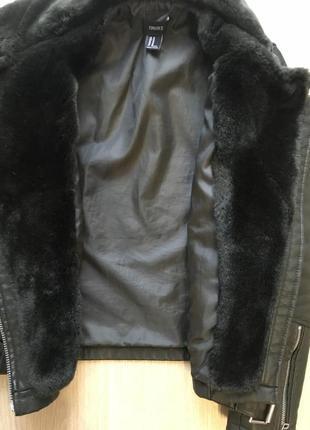 Куртка дублёнка zara