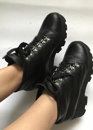Ботинки натуральная кожа!