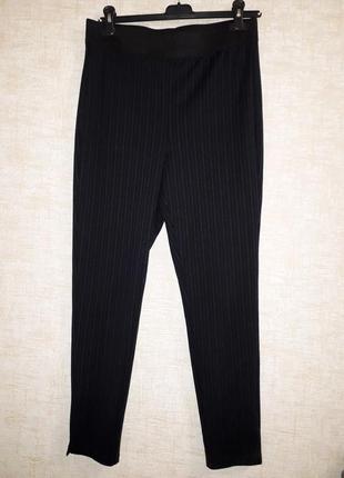 Классные брюки -лосины в полоску