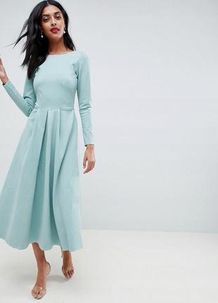 Closet london розкішна бірюзова сукня в ретро-стилі