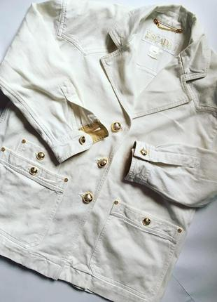 Джинсовый пиджак escada ( италия)