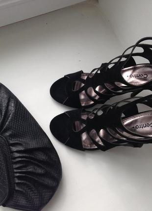 Туфли босоножки на высоком каблуке