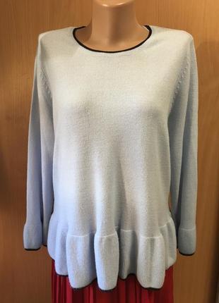 Нежно-голубой свитерок размер 12-14