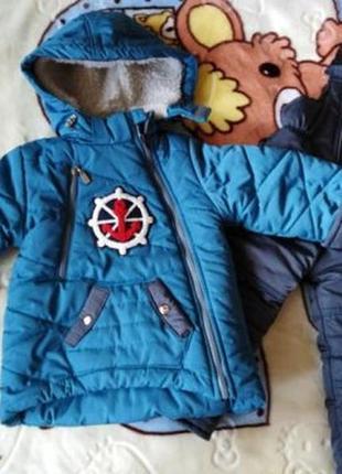 Тёплая зимняя куртка парка