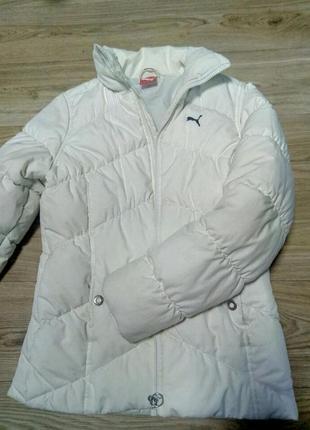 Куртка курточка пуховик puma