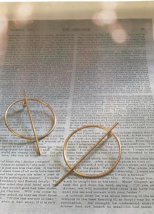 Серьги/сережки/бижутерия/круглые под золото ретро