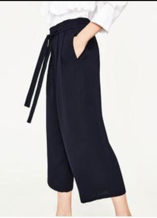 Фирменные брюки кюлоты от zara
