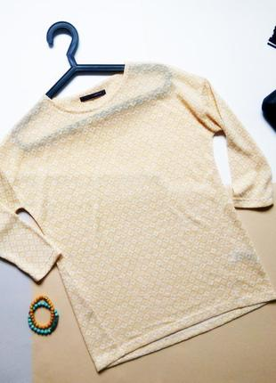 Блуза с орнаментом marks & spencer