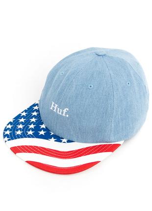Кепка huf, huf denim 4th of july hat
