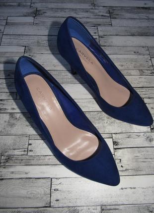 Шикарные замшевые лодочки туфли carvela kurt geiger