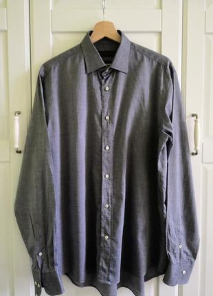 Рубашка мужская серая от etro