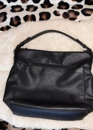 Чёрная женская сумка l.pigeon