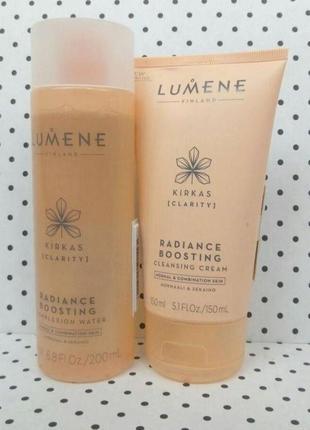 Набор тоник и гель крем для умывания lumene