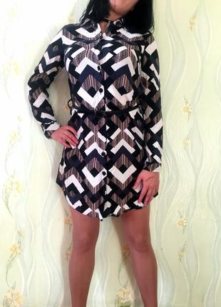 Платье-рубашка от select