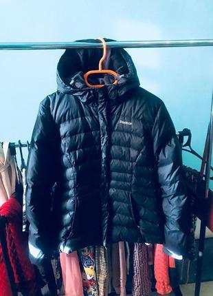 Куртка reebok на пуху пуховая пуховик