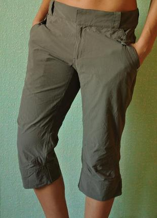 Бріджи трекінгові, бриджи, штаны, брюки спортивные эластичные the north face