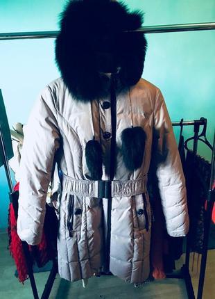 Пальто пуховик зимнее peercat