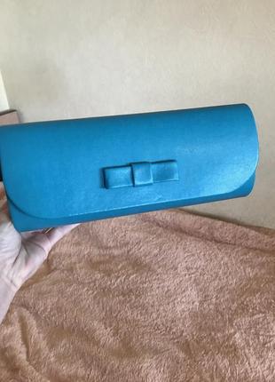 Клатч сумка через плечо кожаная сумка