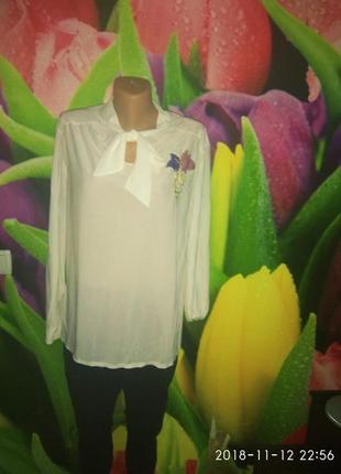 Блуза тоненькая ткань с блеском