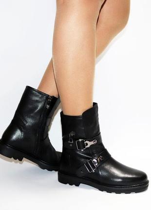 Зимние ботинки respect оригинал натуральная кожа цигейка 35-40