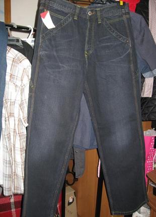 Sale! sale! sale! стильные тёмно-синие джинсы с потёртостями от italdenim