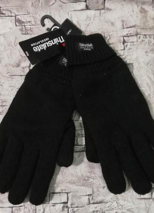 Супер теплые перчатки на тинсулейте. c&a