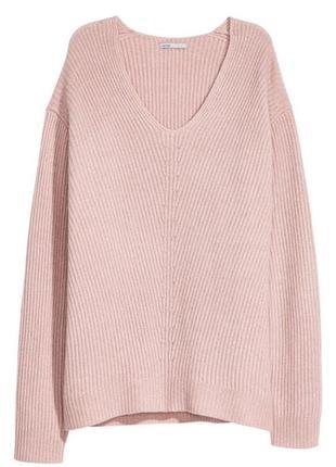 Свитер пуловер 100%кашемир h&m новый